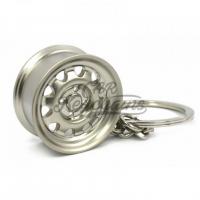 [Prívesok na kľúče Disk WIDE Steel plechač (Silver matte)]