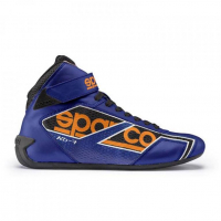 [Sparco 00123841AZAF Kartingová Topánka SHADOW KB-7 Blue/Orange Fluo 41 ]