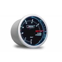 [PROSPORT Smoke Lens prídavný ukazovateľ tlaku paliva 0-7bar s dymovým prekrytím]