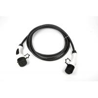 [Nabíjací kábel Typ 1 (Yazaki) na Typ 2 (Mennekes) so zámkom - 32 A - 5m]