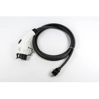[Koncovka Type 1 s káblom do klasickej 220V zásuvky. (Napr pre stavbu / opravu nabíjačky)]