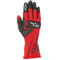 [Rukavice Alpinestars TECH M GLOVES - RED BLACK]