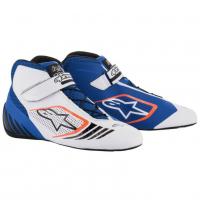 [Topánky Alpinestars  TECH-1 KX SHOES - WHITE BLUE]