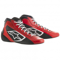 [Topánky Alpinestars  TECH-1 K START SHOES - RED BLACK]