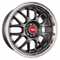 [TEC GT-AR1 - DARK GREY POLISHED LIP]