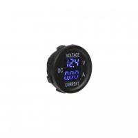 [Digitálne ampérmeter a voltmeter 5-48V modrý]