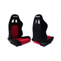 [Športová sedačka RAPID Welur Bride Red/Black]