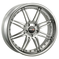 [Motec ANTARES EVO MCT1 - High Gloss Silver W Stainless Steel Lip]
