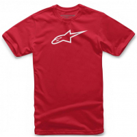 [Pánske červeno-biele tričko Ageless CLASSIC TEE Alpinestars krátke 1032-72030 3020]