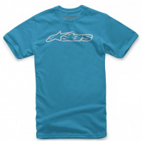 [Pánske modro-šedé tričko BLAZE CLASSIC TEE Alpinestars krátke 1032-72032 7611]