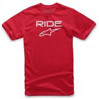 [Pánske červené tričko RIDE 2.0 TEE Alpinestars krátke 1038-72000 3020]