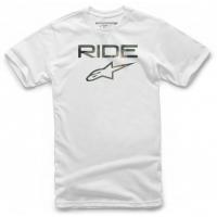 [Pánske biele tričko RIDE 2.0 CAMO Alpinestars krátke 1119-72006 20]