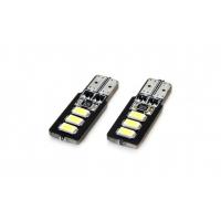 [LED CANBUS 6SMD 5730 T10 (W5W) Biela]