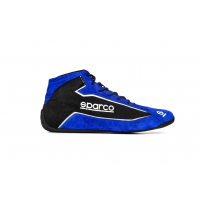 [Topánky SPARCO SLALOM+ (FABRIC AND SUEDE) Blue Spectrum]