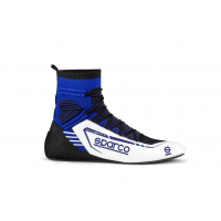 [Topánky SPARCO X-LIGHT+ High Black/Electric Blue]