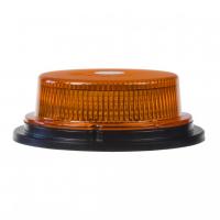 [LED maják, 12-24V, 18x1W oranžový, pevná montáž, ECE R10]