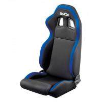 [Tuningová sedačka SPARCO R100 S Black/Gray/Red/Blue]