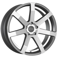 [CORSPEED CHALLENGE - HIGLOSS-GUNMETAL-POLISHED / UNDERCUT COLOR TRIM WEISS]