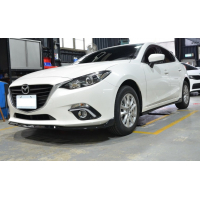 [Dokładka zderzaka przedniego Mazda 3 4/5D 14- MZ Style]