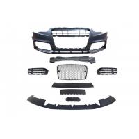 [Zderzak przedni + Grill Chrom-Czarny Audi A5 8T 13-16 RS5 Style]
