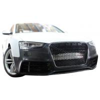 [Zderzak przedni + Grill Czarny Audi A5 8T 13-16 RS5 Style]
