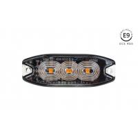 [Tenká jantárová žiarovka na osvetlenú mriežku 3x3W LED R65 R10 12 / 24V IP67]