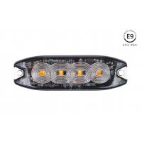 [Štíhla jantárová mriežka na osvetlenie mriežky 4x3W LED R65 R10 12 / 24V IP68]