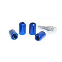 [Nakrętki przelotowe M12x1.5 L:32mm Niebieskie]