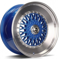[79WHEELS SV-F - BLUE POLISHED LIP]