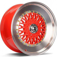 [79WHEELS SV-F - RED POLISHED LIP]