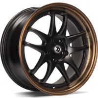 [79WHEELS SV-I - MATT BLACK BRONZE LIP]