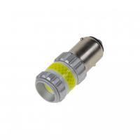 [LED BAY15d biela, dvouvlákno, COB 360⁰, 9-60V, 12W]