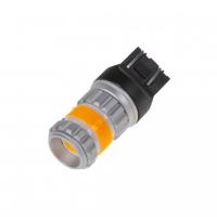 [LED T20 (7443) oranžová, COB 360⁰, 9-60V, 12W]