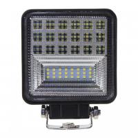 [LED svetlo štvorcové, 42x1W, 126x110mm, ECE R10]