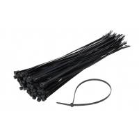 [Sťahovacie pásky čierne 3,6x150 mm - 100 ks]