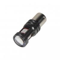 [LED BA15s červená, 12-24V, 15LED / 2835SMD]