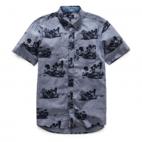 [Pánska modra košeľa PARADISE TEE Alpinestars 1017-73006 72]