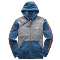 [Pánska modra mikina MACHINE FLEECE Alpinestars 1017-53005]