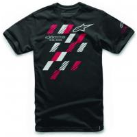 [Panské čierne tričko GP CLASS TEE Alpinestars krátke 1016-72037 10]