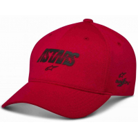 [Pánska červená šiltovka ANGLE VELO TECH HAT Alpinestars 1230-81003 30]