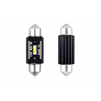 [LED CANBUS 1 SMD UltraBright 1860 festón 36mm biely 12V / 24V]