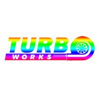 [Naklejka TurboWorks 15cm HOLO]