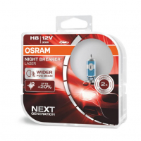 [Halogénová žiarovka Osram H8 12V 35W PGJ19-1 NIGHT BREAKER LASER + 150% / 2ks]