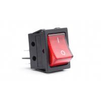 [Obdĺžnikový spínač 12V / 230V (s červeným svetlom) BU02]