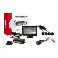 """[Asistent parkovania LCD 4,3"""" s kamerou HD-301 IR 4-senzorové, čierne]"""