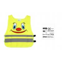 [Detská bezpečnostná vesta žltá SVK-04 s certifikátom]