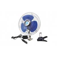 [Kovový ventilátor do auta so skrutkovacím uchytením + sponou CFAN-15 + 12V]