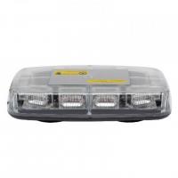 [LED výstražná svetelná lišta 280 x 165 x 57 mm R65 R10]