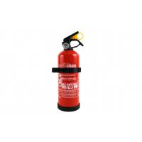 [Praškový hasiací prístroj ABC s manometrom a držiakom. 2Kg]