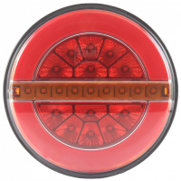 [Zadné svetlo LED 12 / 24V s dynamickým smerovým svetlom L1883]